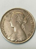 1861 Victoria D. G. New Brunswick One Cent Coin