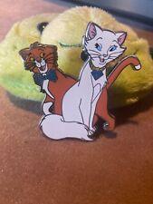 Disney Fantasy Pin Aristocats Diamond 60th  Duchess And Thomas O Mally