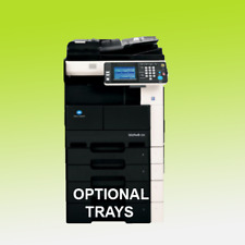 Konica Minolta Bizhub 222 Mono Laser Printer Scan Copier A3 Duplex Mfp 22ppm 282