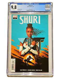Shuri 1 CGC 9.8 1st Print Black Panther 2 Sister