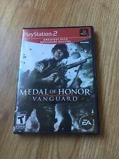 Medal Of Honor Vanguard PS2 Sony PlayStation 2 Cib Game XP1
