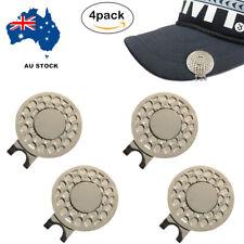 GOLF HAT CLIP 4 PACK MAGNETIC FOR GOLF BALL MARKER AU STOCK FINGER TEN