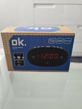 NEUER Radiowecker von ok. OCR 210 Dual Alarm Dimmer Funktion