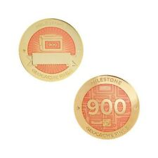 Milestone Geocoin and Tag Set - 900 Finds Geocaching Official Trackable