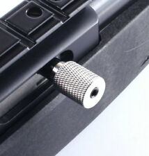 Ruger 10/22 charging handle Knurled Finish SILVER with 3 Spring rates