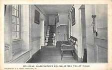 Valley Forge Pennsylvania hallway Washington's Headquarters antique pc Z26926