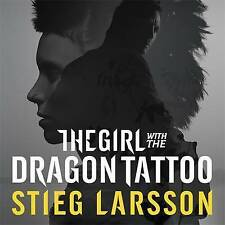 6 CD AUDIO BOOK - The Girl with the Dragon Tattoo by Stieg Larsson (2011) - NEW