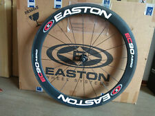 Easton EC90 Aero Carbon rear wheel with 56mm  profile tubular