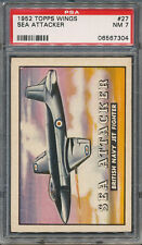 1952 Topps Wings #27 Sea Attacker PSA NM 7 *7304