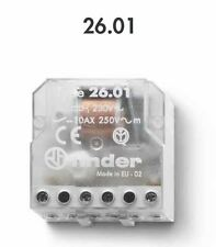 FINDER 26.01.8.230.0000 RELE' A IMPULSI 10A - 250V - 230VAC - 1 CONTATTI NO