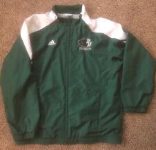 Vintage Adidas Jacket Coat Binghamton University Adult Small Zipup