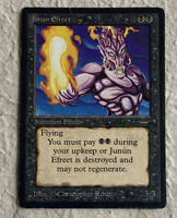 Junun Efreet VHP Crease Warp/Bend Arabian Nights 1993 Original Mtg