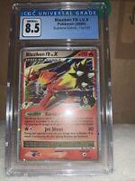 Pokemon Platinum Supreme Victors Blaziken FB Lv X CGC 8.5