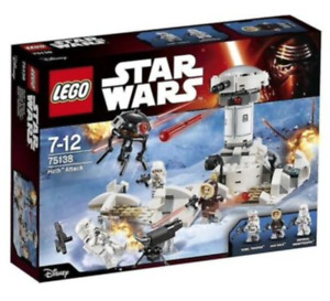 LEGO STAR WARS 75138 HOTH ATTACK NEW FACTORY SEALED SET (RETIRED)