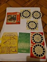 Vintage Viewmaster Rudolph The Red Nose Reindeer and Easter story