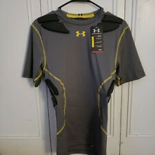 $75 Under Armour Gameday Compression Padded Football Shirt Men's Large 1236233
