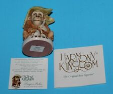 Harmony Kingdom Orangutan Pongo'S Palm Treasure Jest Box Figurine Retired