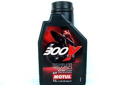1 L Motul 300V 15W50 4T RACING huile de moto 4Takt ROAD L'HUILE MOTEUR