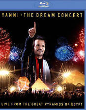 YANNI: THE DREAM CONCERT - LIVE FROM THE GREAT PYRAMIDS OF EGYPT NEW BLU-RAY