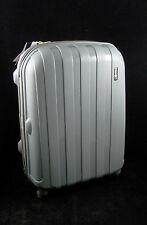 "Grey Luggage X Suitcase Medium 26"" (66cm) Lightweight Hard Shell Sided 4 Wheels"