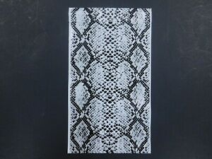 50 SNAKESKIN Designer 6x9 Mailers Black Gray Poly Shipping Envelope Boutique Bag