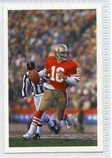 Scarce Trade Card of Joe Montana, US Football 1986