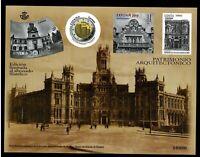 Edición limitada al abonado Filatélico Artista Patrimonio Arquitectonico 2019