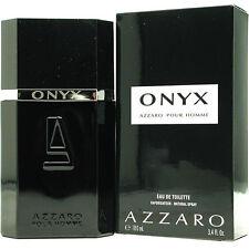 ONYX  by Azzaro Pour Homme 3.4 oz. eau de toilette Spray for Men Cologne NEW NIB