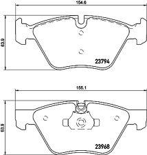 Mintex Front Brake Pad Set MDB2692  - BRAND NEW - GENUINE - 5 YEAR WARRANTY
