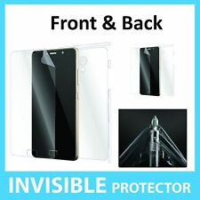 Lenovo P2 Screen Protector Front and Back FULL Coverage Invisible Shield