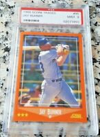 JAY BUHNER 1988 Score Traded Rookie RC PSA 9 MINT Low # Seattle Mariners 310 HRs
