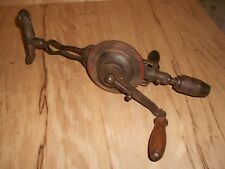 Vintage MILLERS FALLS No. 97 Chest Brace Hand Drill USA