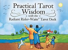 PRACTICAL TAROT WISDOM CARDS RADIANT RIDER WAITE DECK :GUIDANCE GAME CAT ResQ