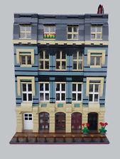 LEGO MOC Custom Modular Haussmanian Building instructions 10218-10251-etc