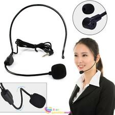 Head-mounted Microphone Headset Mic Guide Speech for Voice Amplifier Loudspeaker