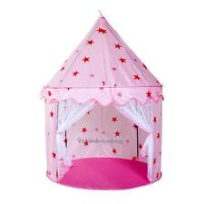 Kids Children Play Tent Castle Princess Playhouse Toy Party Pink Home Outdoor