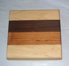Handmade Multi Color Wood Cheese Cutting Board