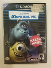 Monsters, Inc.: Scream Arena (Nintendo GameCube, 2002) COMPLETE FREE S/H