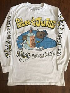 "Snoop Doggy Dogg ""Gin & Juice"" Hip Hop West Coast Rap Worn Used T-shirt"