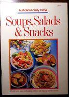 Australian Family Circle SOUPS, SALADS & SNACKS Cookbook