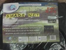 14 X 20' Black Shade Net Mesh Screen Garden Patio RV Nursery Canopy Sun Tarp
