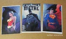 DARK NIGHTS METAL #1 MICHAEL TURNER VARIANTS LOT DC REBIRTH Virgin COVERS Batman