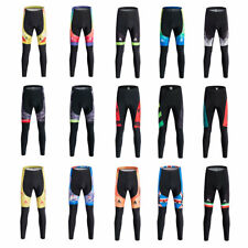 Miloto Men's Cycling Trousers Lycra Padded Bike Cycle Tights Compression S-XXXL