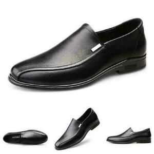 New Mens Slip on Loafers Driving Moccasins Breathable Casual Work Shoes