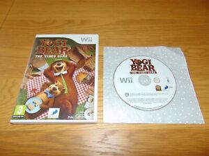 Yogi Bear The Video Game (Nintendo Wii Wii U 2010) PAL
