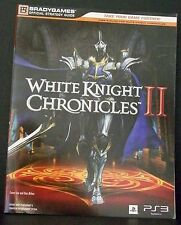 White Knight Chronicles II Playstation 3 BradyGames Official Strategy Guide