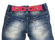 SNAP BELT for Baby&Toddler Boy & Girl Pants ADJUSTABLE-SISTER SELECTED (Pink)