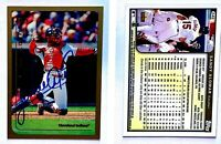 Sandy Alomar Jr. Signed 1999 Topps #245 Card Cleveland Indians Auto Autograph