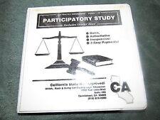 Participatory Study Law Practice Management CASSETTES