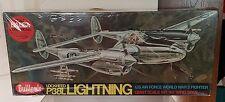 Guillow's Flying Model Kit P-38 Lightnning  - NIB